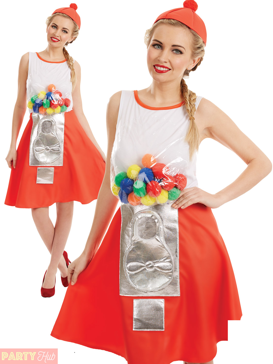 Ladies-Gumball-Machine-Costume-Womens-Novelty-Sweet-Fancy-