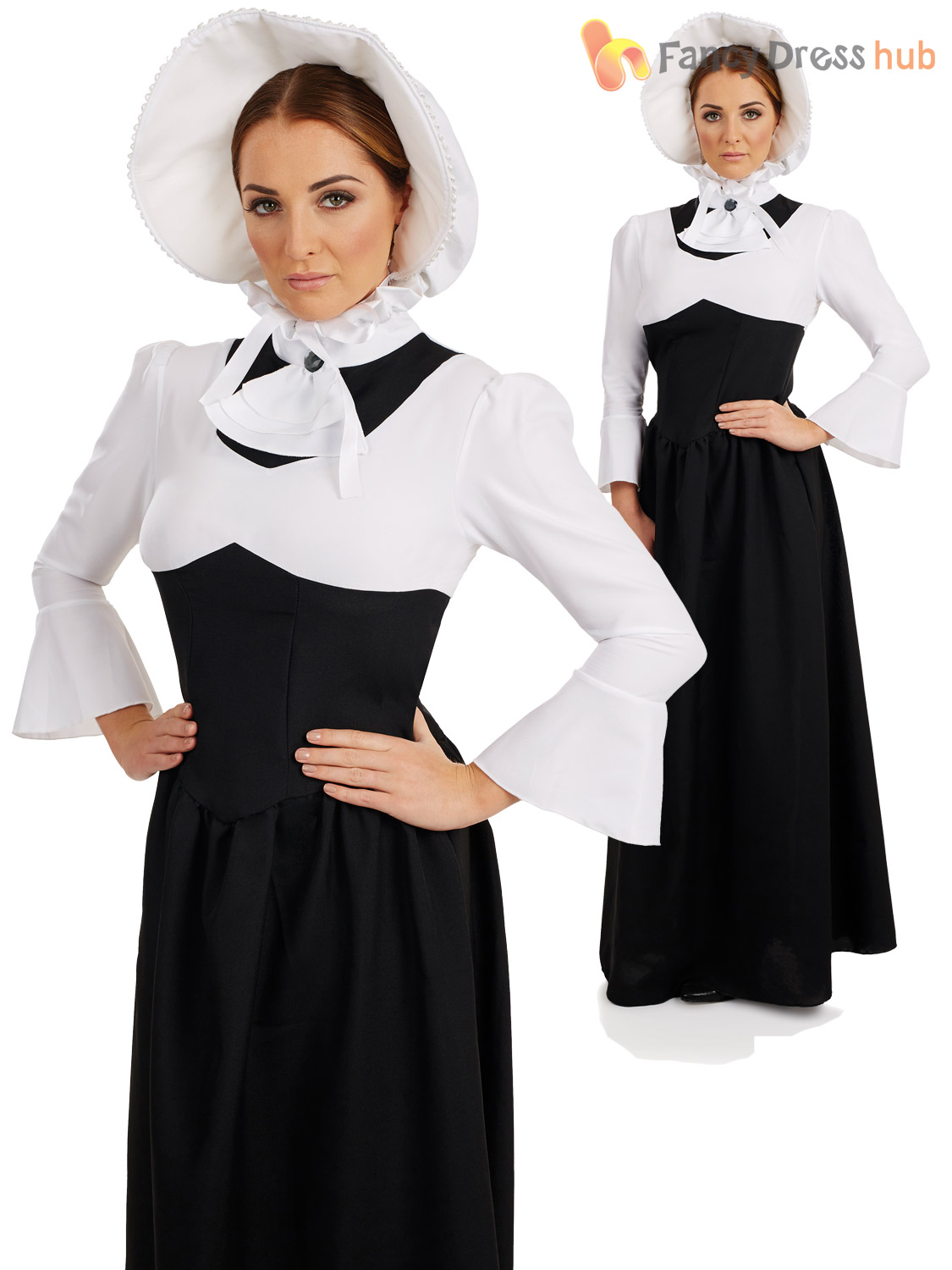 Ladies Victorian Lady Costume Adult Posh Historical Fancy
