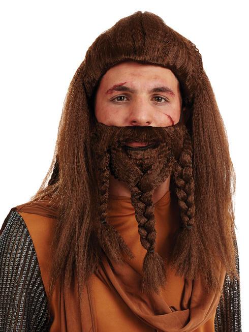 Men's Viking Wig & Beard