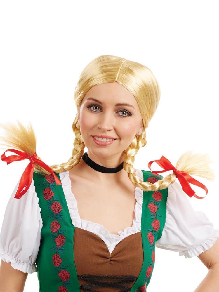 Ladies Bavarian Girl Wig