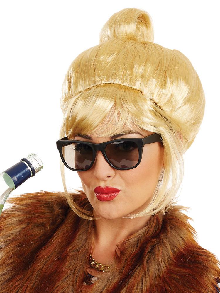 Ladies Blonde Beehive Wig