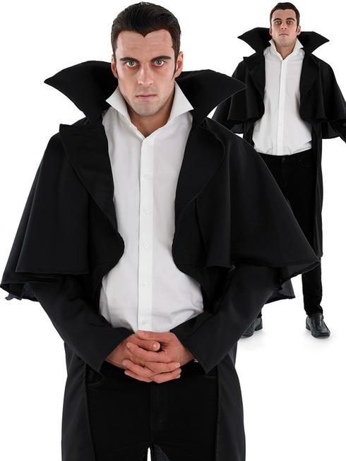 Adults Black Vampire Coat