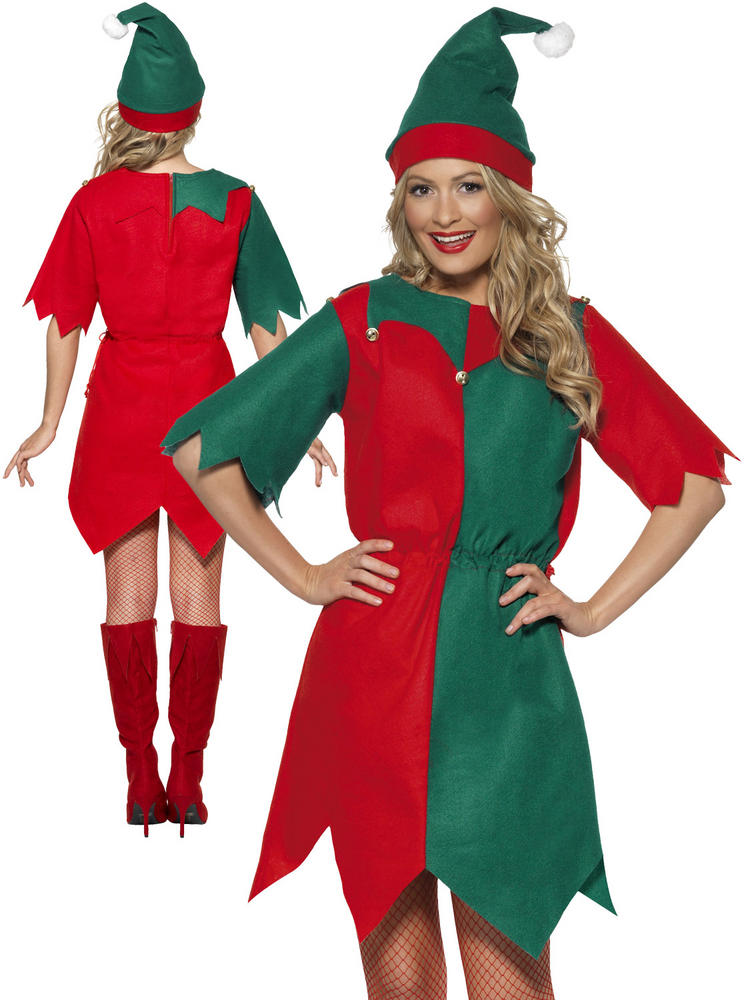 Ladies Elf Tunic Costume