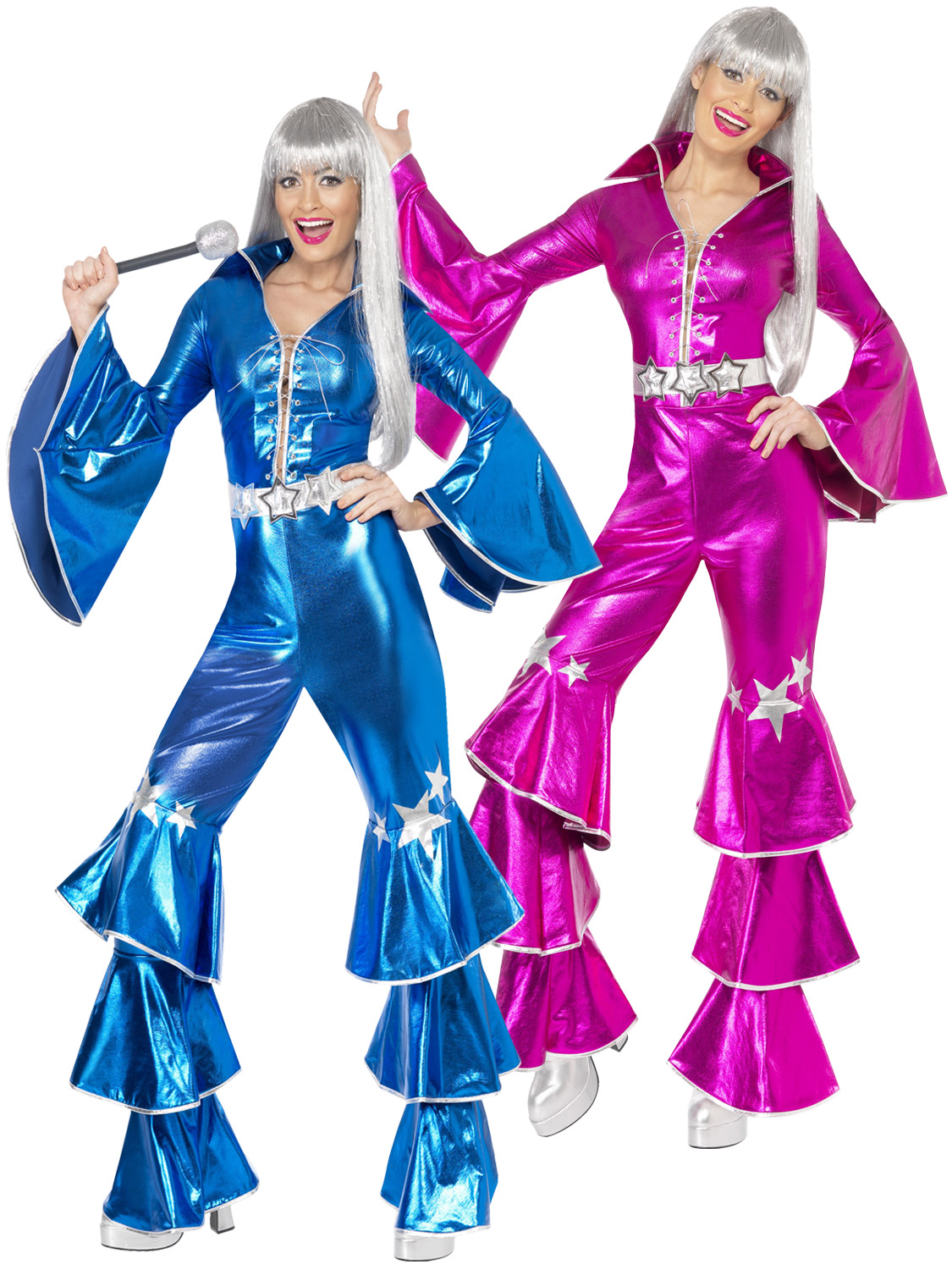 Ladies 1970s dancing dream costume adult fancy dress waterloo 70s transform yourself into the ultimate dancing queen with this ladies 1970s dancing dream costume solutioingenieria Images