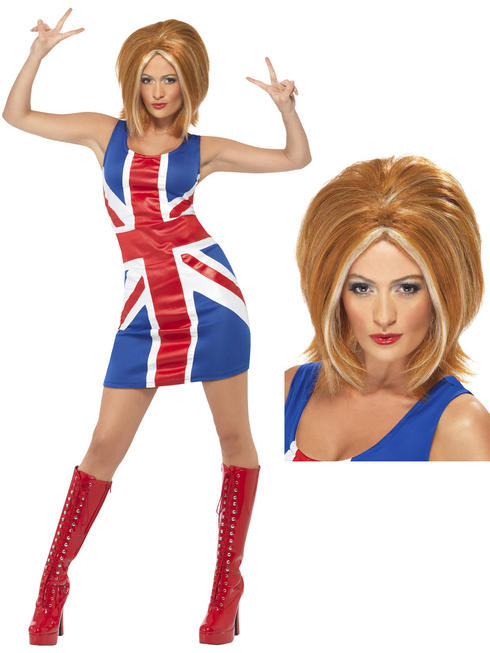 Ladies Ginger Spice Costume