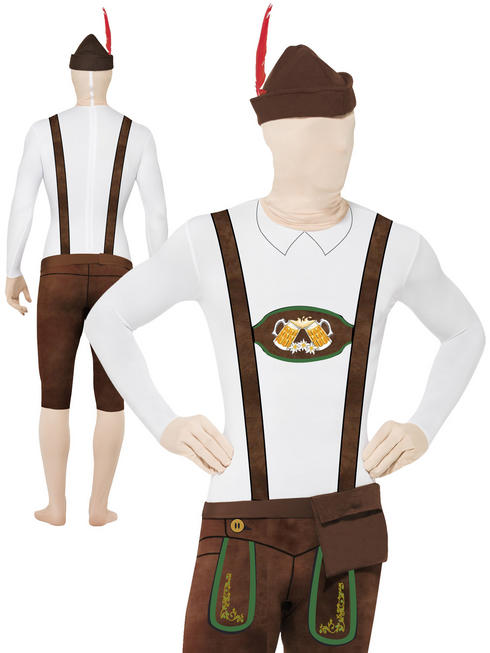 Mens Bavarian Second Skin & Hat