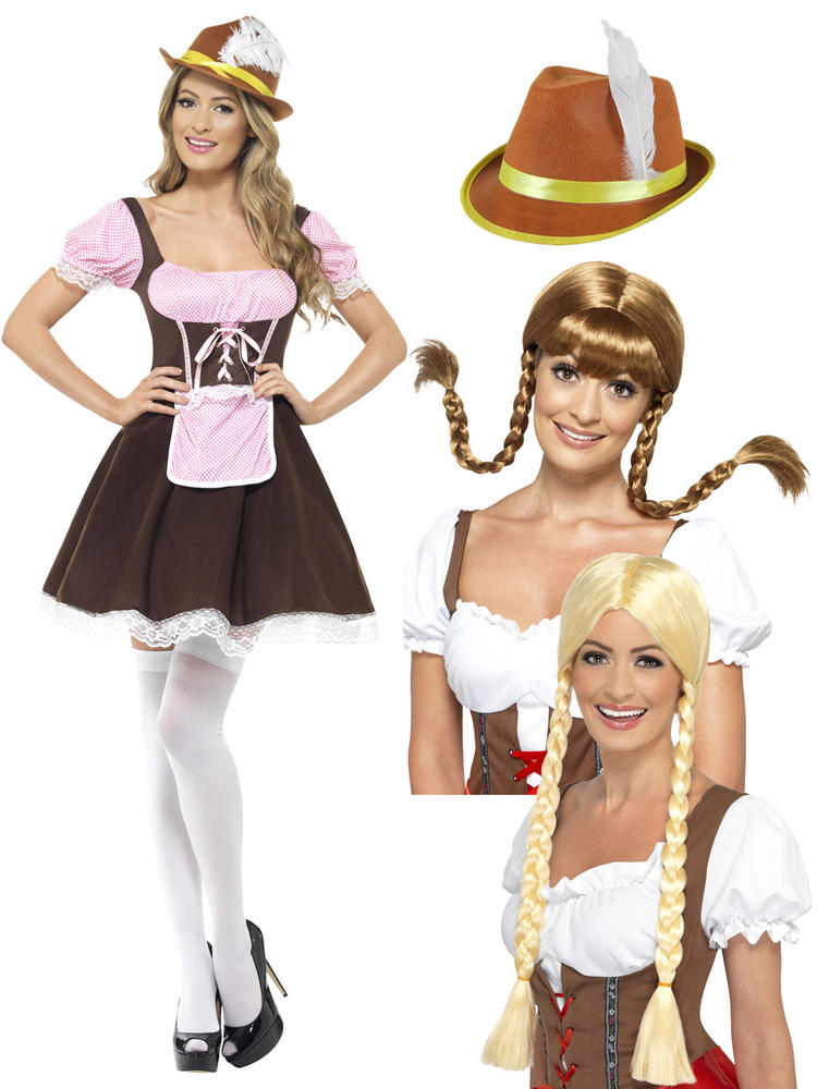 Ladies Tavern Girl Costume Bundle