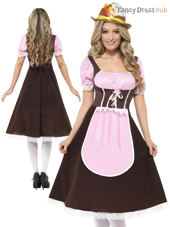 ladies sexy tavern girl oktoberfest costume adult bavarian. Black Bedroom Furniture Sets. Home Design Ideas