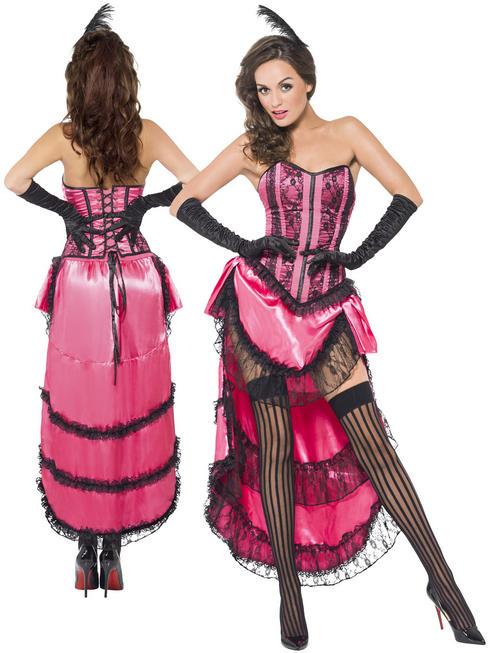 Ladies Fever Can Can Diva Costume