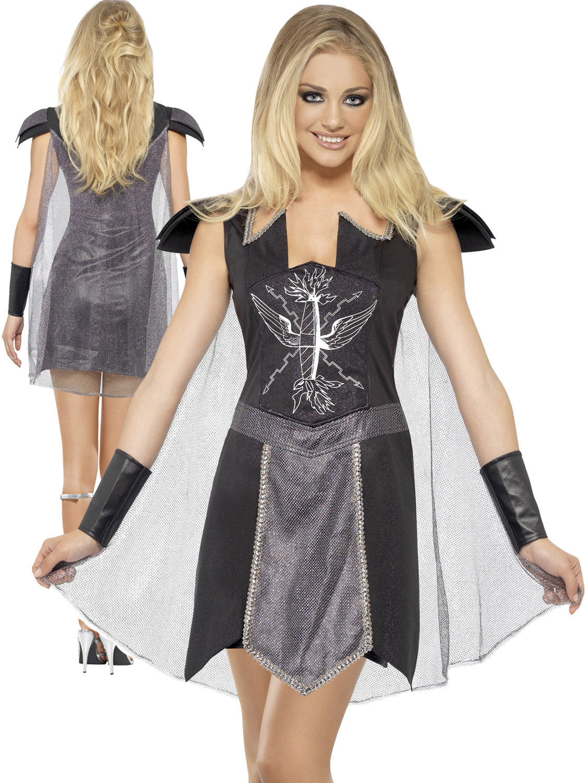 Ladies dark warrior princess costume adults fever roman gladiator transform yourself into a roman gladiator with this ladies fever dark warrior costume solutioingenieria Gallery