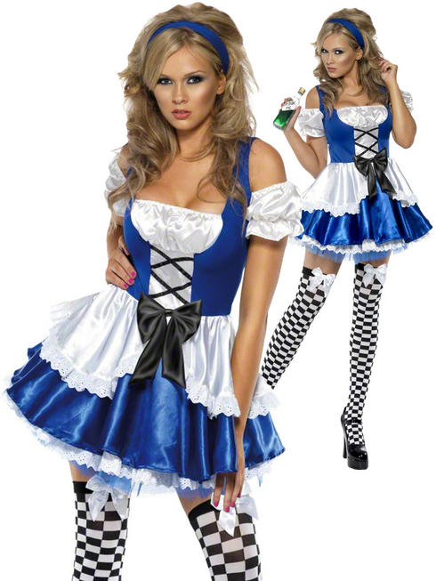 Ladies Fever Alice Costume
