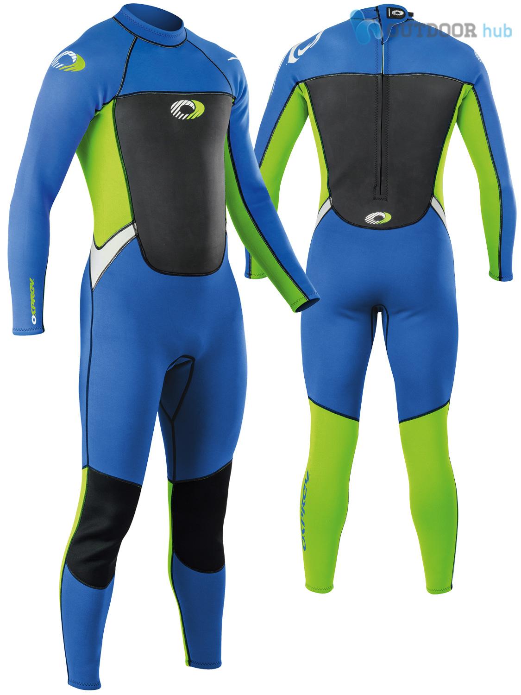 Boys-Girls-Osprey-Origin-Full-Length-3-2mm-Wetsuit-Junior-Long-3mm-Kids-Surf thumbnail 18