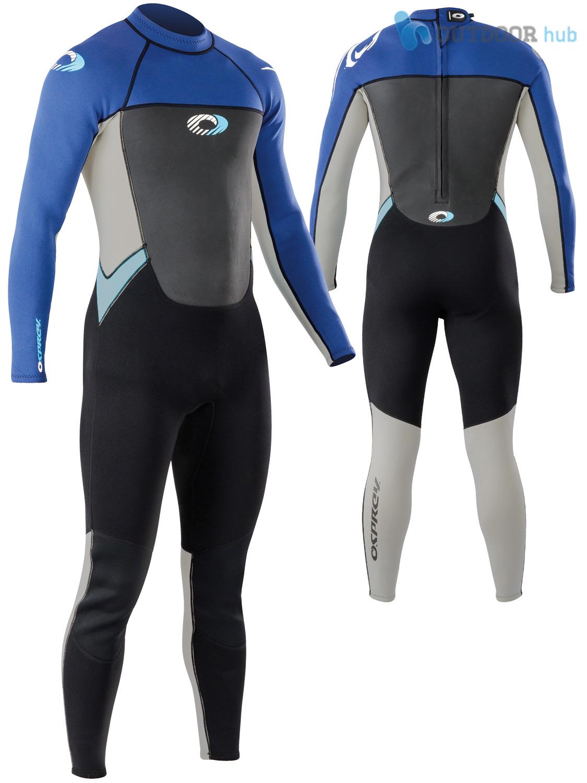 Boys-Girls-Osprey-Origin-Full-Length-3-2mm-Wetsuit-Junior-Long-3mm-Kids-Surf thumbnail 41