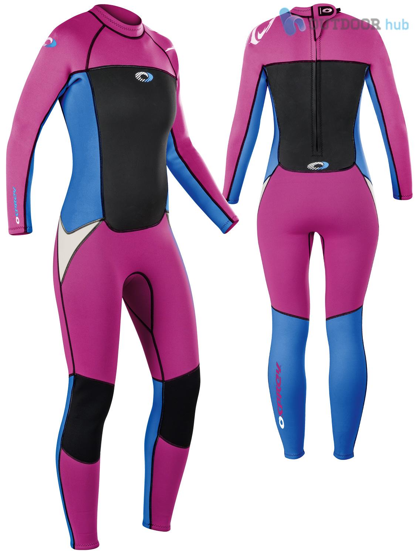 Boys-Girls-Osprey-Origin-Full-Length-3-2mm-Wetsuit-Junior-Long-3mm-Kids-Surf thumbnail 29