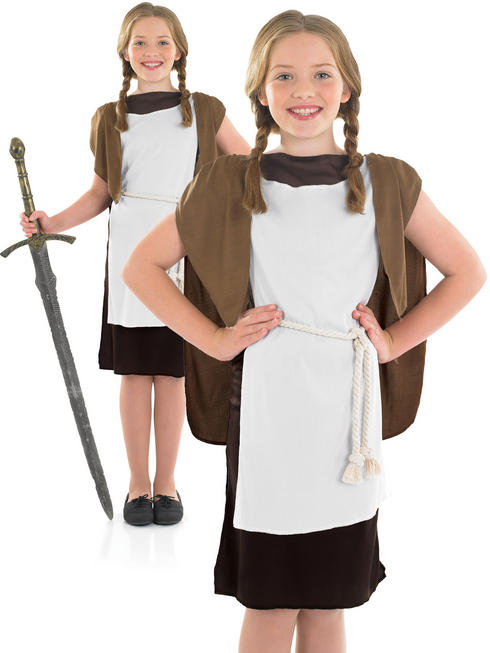 Girl's Viking Girl Costume
