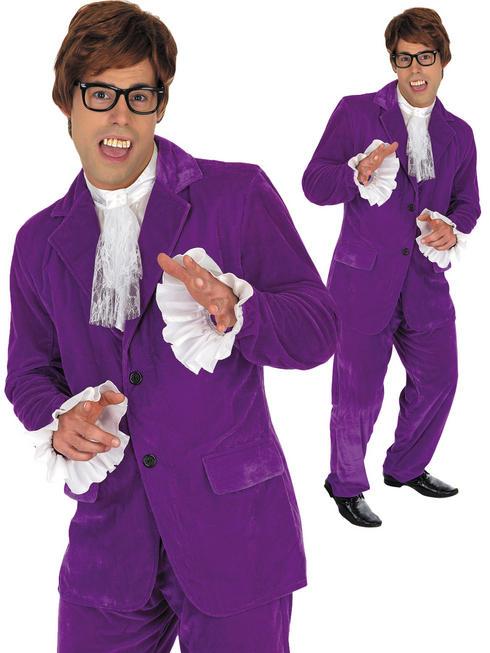 Men's 60s Austin Powers Costume