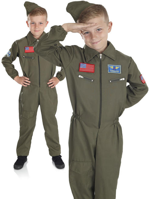 Boy's Air Cadet Costume