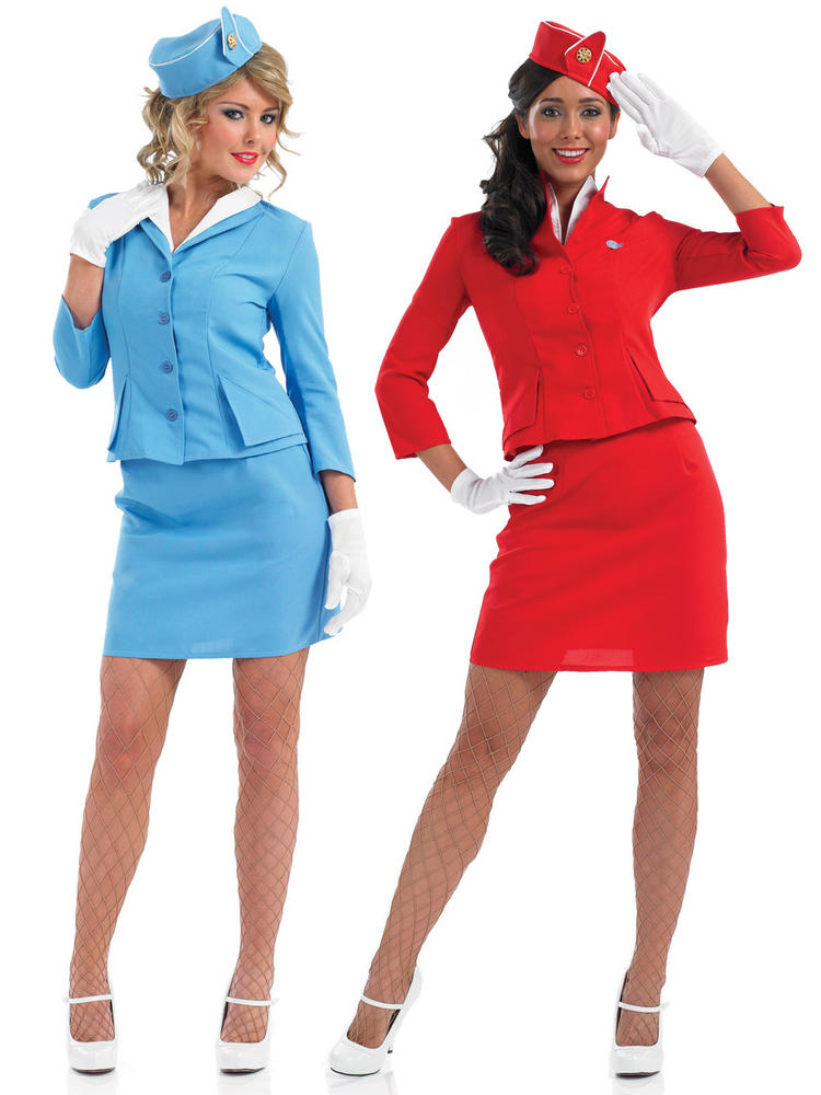 Ladies Cabin Crew Costume