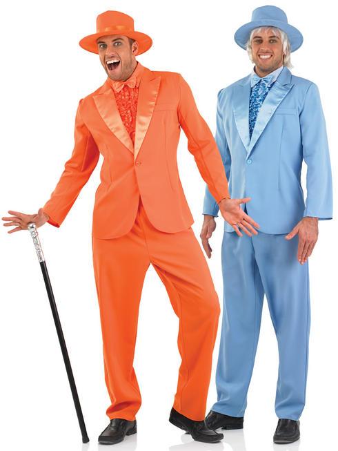 Men's Orange or Blue Suit