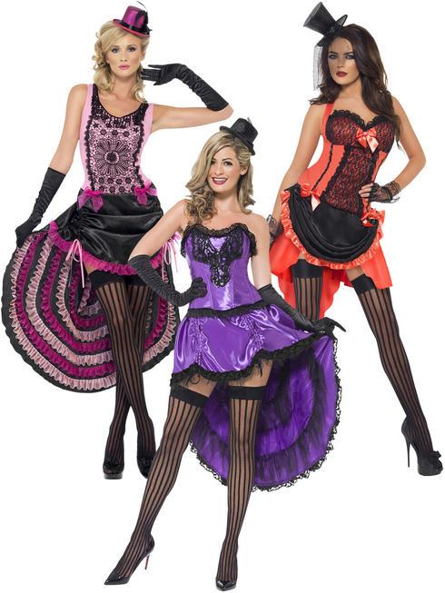 Ladies Burlesque Beauty Costume