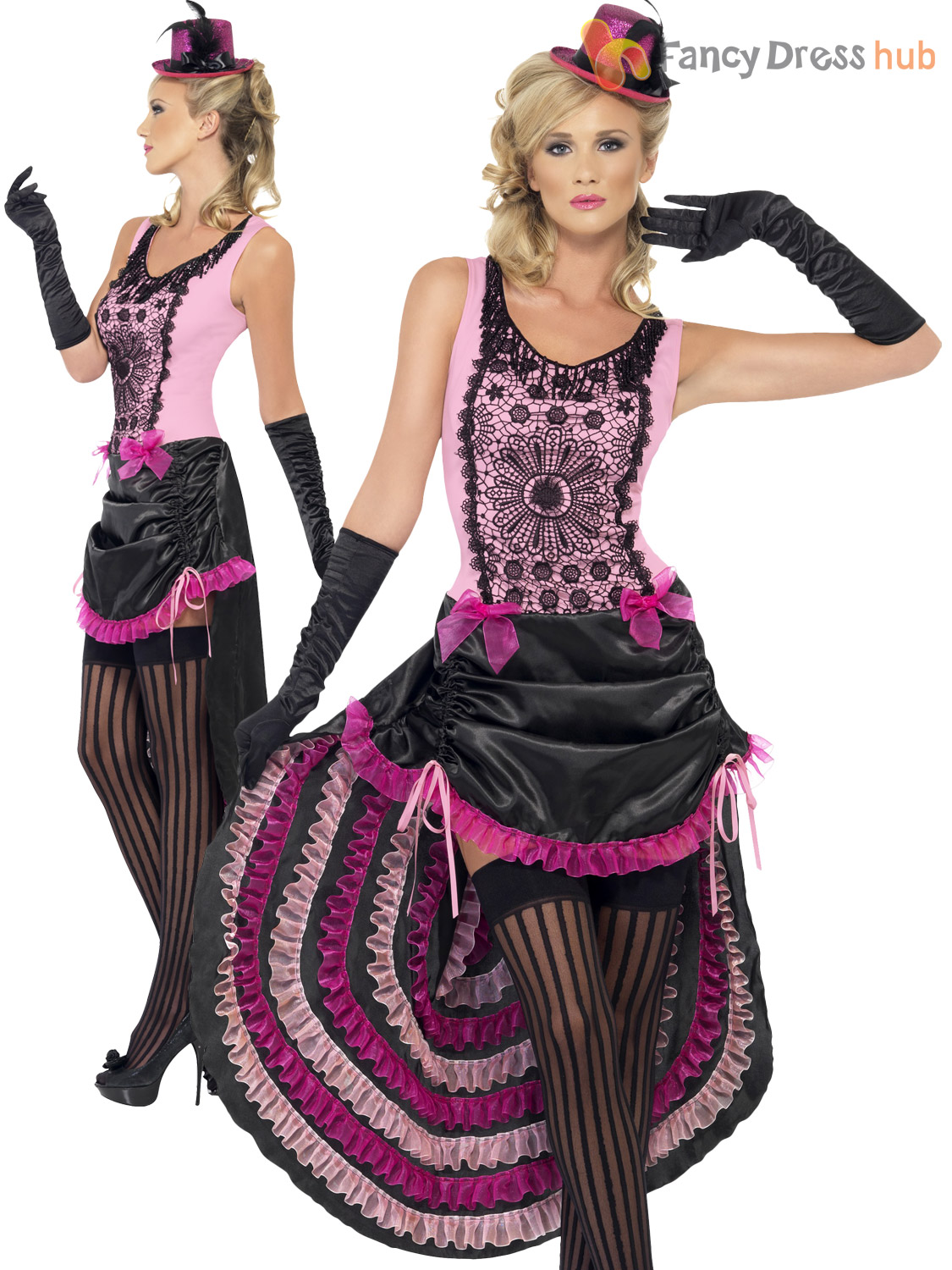 Ladies burlesque costume adults can can fancy dress womens 1920s ladies burlesque costume adults can can fancy dress solutioingenieria Images