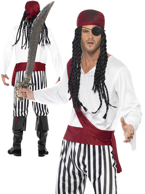Men's Pirate Man Costume