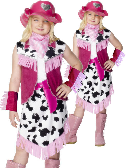 Girl's Rodeo Girl Costume