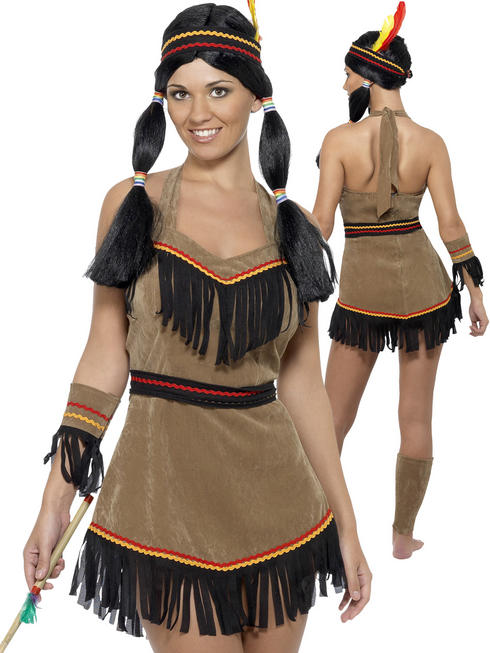 Ladies Indian Woman Costume