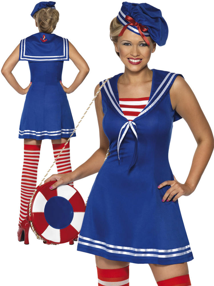 Ladies Sailor Cutie Costume
