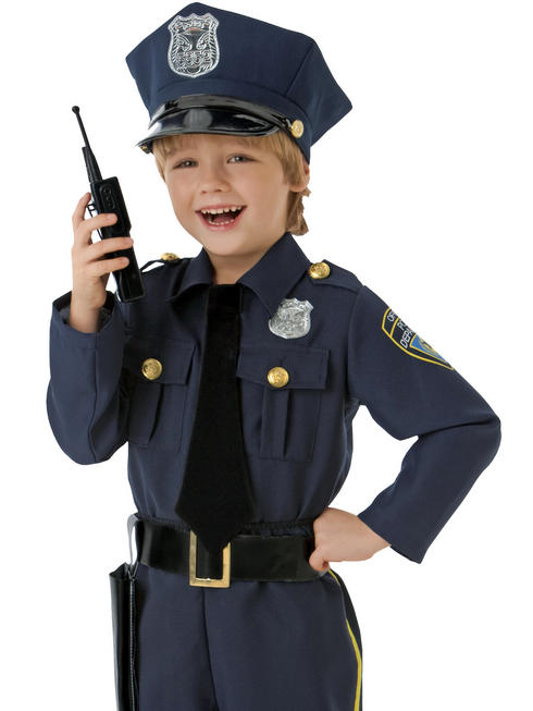 Boy's Police Officer Costume