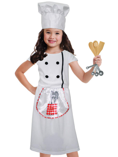 Girl's Chef Role Play Set