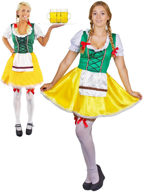 Ladies Beer Girl Costume