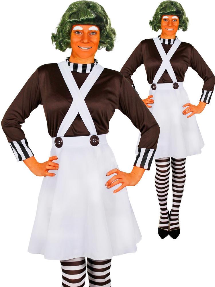 Ladies Oompa Loompa Costume