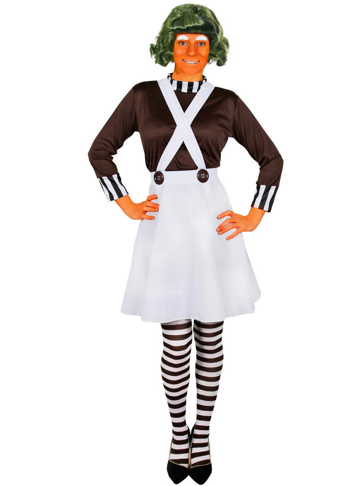 Ladies Oompa Loompa Costume All Ladies Fancy Dress Hub