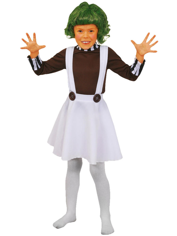 Childu0027s Oompa Loompa Costume. Sentinel. Thumbnail 2. Sentinel. Thumbnail 3  sc 1 st  Fancy Dress Hub : oompa loompa costumes for adults  - Germanpascual.Com