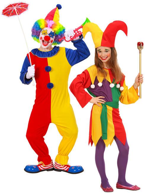 Child's Circus Clown Costume