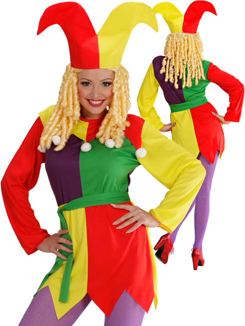 Ladies Jolly Jester Costume