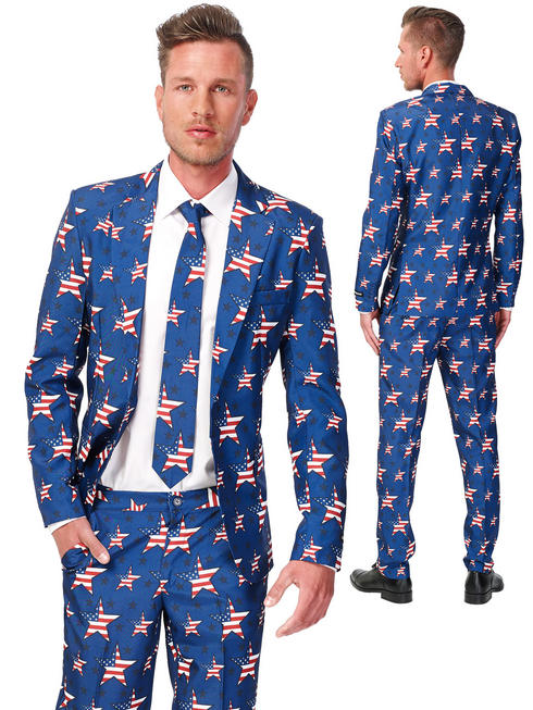 Adult's Suitmeister Stars & Stripes