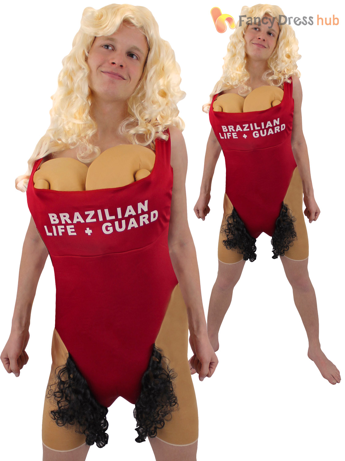 Adults-Brazilian-Babs-Lifeguard-Costume-Mens-Hairy-Mary-  sc 1 st  eBay : lifeguard halloween costumes  - Germanpascual.Com