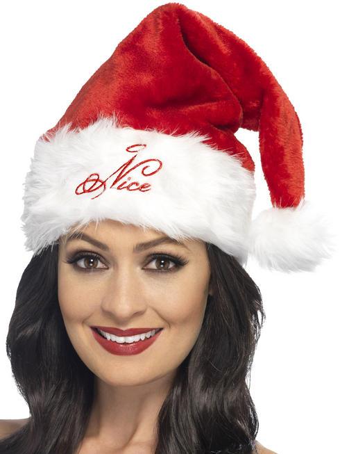 Adult's Santa Naughty Or Nice Hat