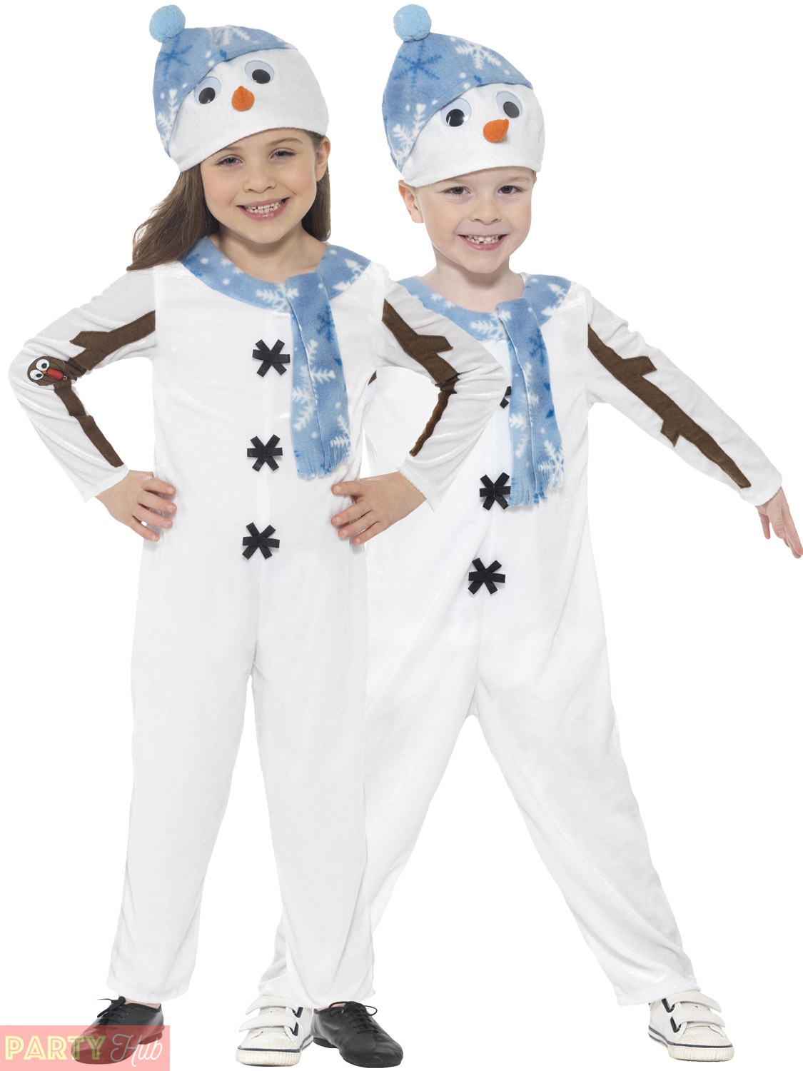 Toddler-Snowman-Costume-Boys-Girls-Christmas-Fancy-Dress-  sc 1 st  eBay & Toddler Snowman Costume Boys Girls Christmas Fancy Dress Olaf Kids ...