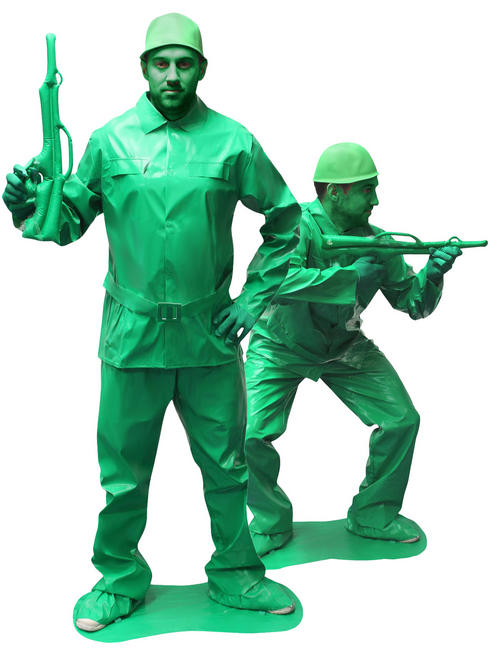 Adults Toy Soldier Saving Private Morph Morphsuit