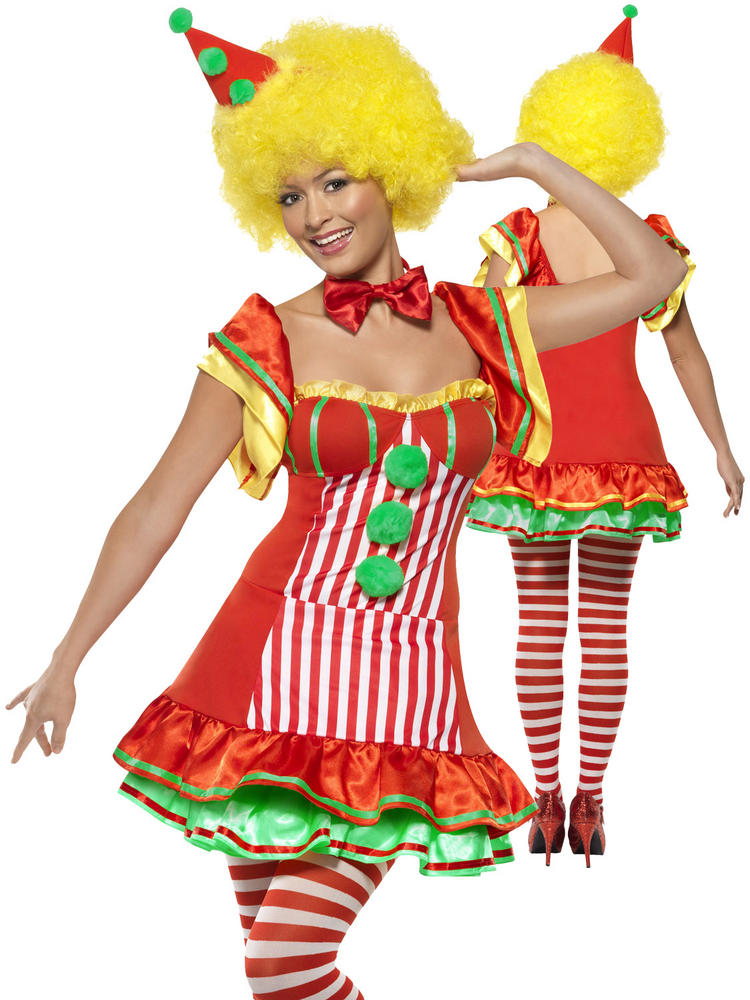 Ladies Boo Boo The Clown Costume