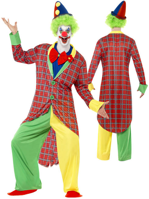 Men's La Circus Deluxe Clown Costume