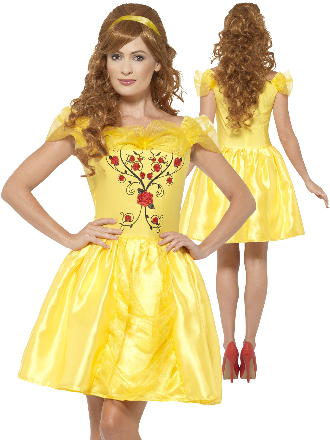 Ladies belle costume adults enchanting beauty and the beast fancy transform yourself into belle from beauty and the beast with this ladies enchanting beauty costume solutioingenieria Gallery