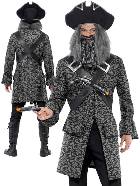 Mens Terror Of The Sea Deluxe Pirate Costume