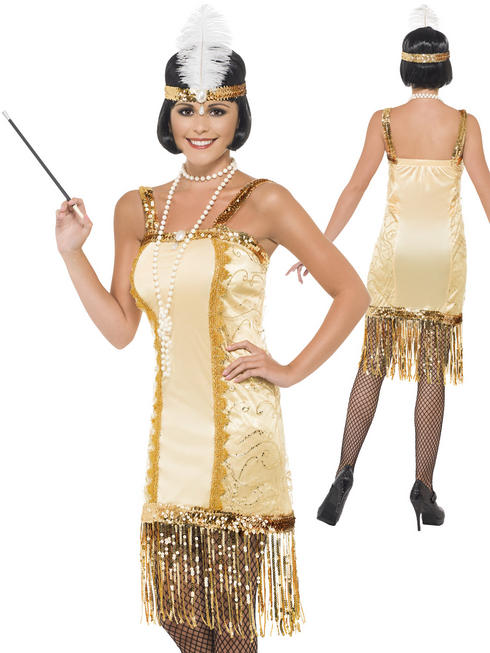 Ladies Charleston Flapper Costume