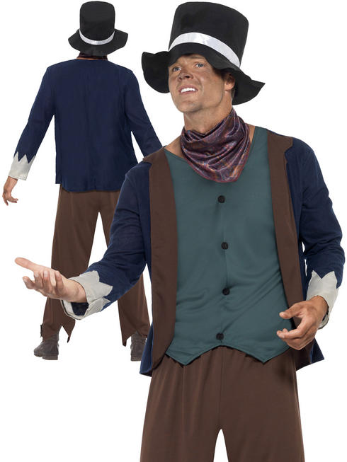 Mens Poor Victorian Man Costume