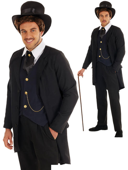 Men's Victorian Man Costume