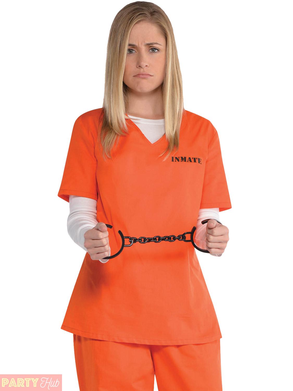 ... las orange prisoner costume overalls convict halloween hen party ...  sc 1 st  The Halloween - aaasne & Halloween Prisoner Costume - The Halloween